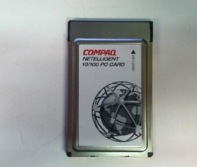 COMPAQ NETELLIGENT 10100 PC CARD DRIVERS WINDOWS 7