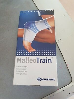 bauerfeind malleotrain active support titan ancle support sock side large size 4