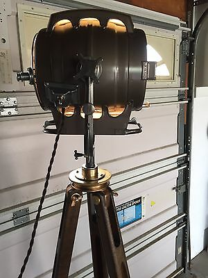 Vintage Hollywood Studio Light..bardwell...vintage...industrial..