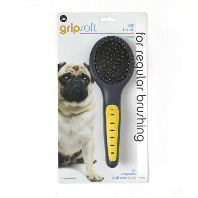 Petmate Grip Soft Small Pin Brush. **Free Shipping**