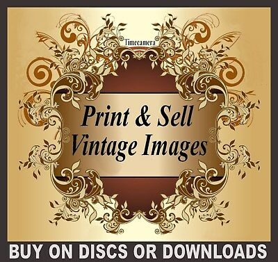 THE ULTIMATE HOME BUSINESS PACKAGE - Print & Sell Thousands of Restored Images!