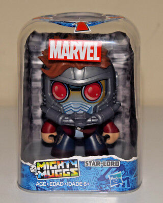 Mighty Muggs Star Lord Marvel Avengers Hasbro Action Figure #14 GOTG - NEW