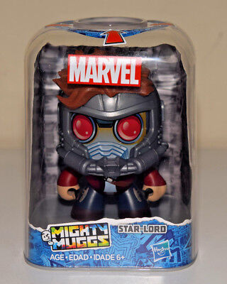 Star Lord Mighty Muggs Marvel Avengers Hasbro Action Figure #14 GOTG - NEW