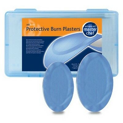 Masterchef Blue Hydrogel Protective Burns Plasters X 5 (Small Size)
