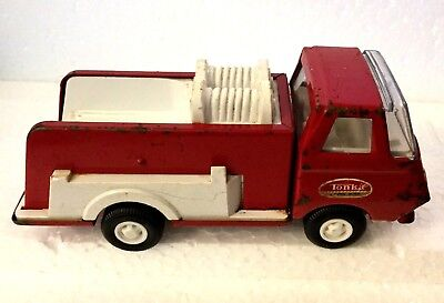 Vintage Tonka Steel Pumper Red Fire Truck 1960s -1970s