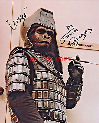 Planet of the Apes 8x10 AUTOGRAPHED Signed Photo POA 1911-2002 James Gregory