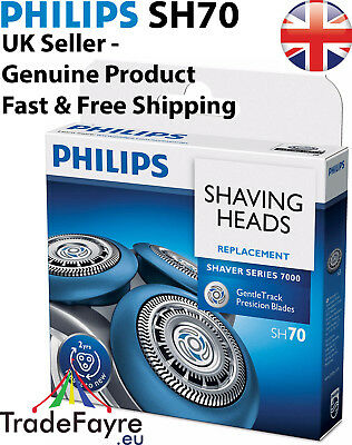 PHILIPS GENUINE SH70 Replacement Blades for Series 7000 Electric Shavers