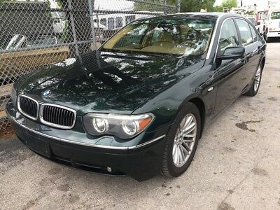 2004 BMW 7-Series 745Li 2004 BMW 745Li XX Clean Condition. Spare Tire Never Used. All Tools In Place.