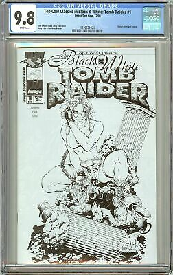Tomb Raider #1 Top Cow Classics in B&W CGC 9.8 White Pages 1270671023