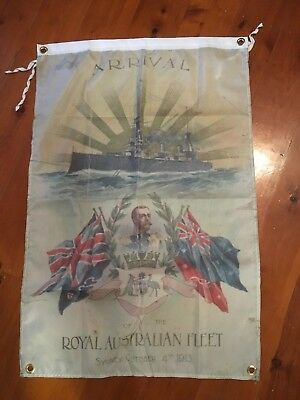 Poster bar flag man cave banner World War One sign royal australian navy ran
