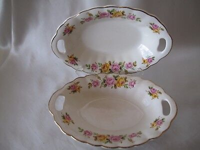 Antique  Pair Of J & G Meakin Small Dishes