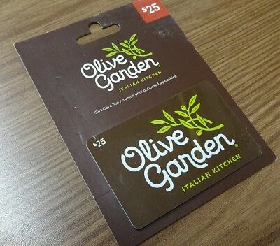 Olive Garden gift card $25.00 verified guaranteed