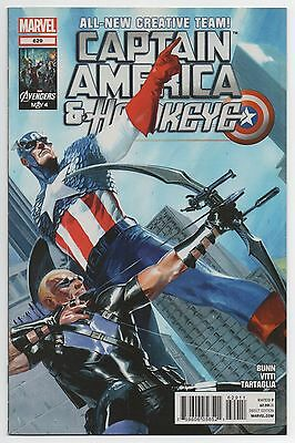 CAPTAIN AMERICA & HAWKEYE #629 | Gabriele Dell'Otto cover | HTF | 2012 | VF+