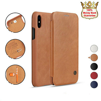 Luxury Genuine PU Leather Flip Wallet Case Card Phone Cover For Phone 6s 7 Plus