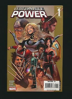 Ultimate Power # 1 to 9, Set of 9, Greg Land, 1st App Serpent Squad