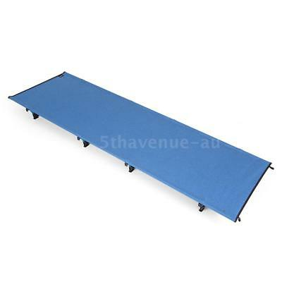 Portable Off-Ground Folding Cot Bed Outdoor Lightweight Camping Sleeping W2M5