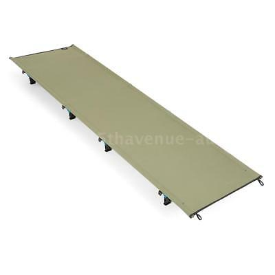 Portable Off-Ground Folding Cot Bed Outdoor Lightweight Camping Sleeping N0O7