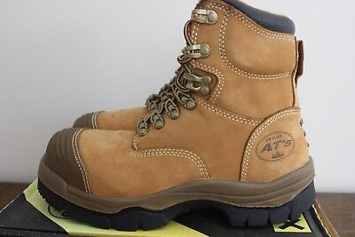 Mens/Womens Work Boots Oliver Style 55-232 Wheat Brand New/Never Worn USA:6 AU:7