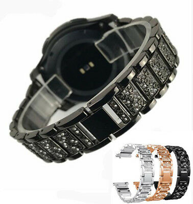 Bling Diamond Strap Stainless Watch Band For Samsung Gear S3 Frontier/Classic