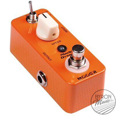 Mooer MEP-NO Ninety Orange Phaser Micro Guitar Effects Pedal