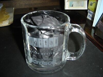 Digital Equipment Corp. Glass Coffee Mug