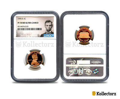 1995-S Lincoln 1C Ngc Pf70 Rd Ultra Cameo Portrait Label