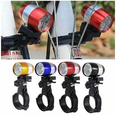 Bicycle Waterproof Cycling Mountain Bike Front Light LED Head Lamp with Bracket