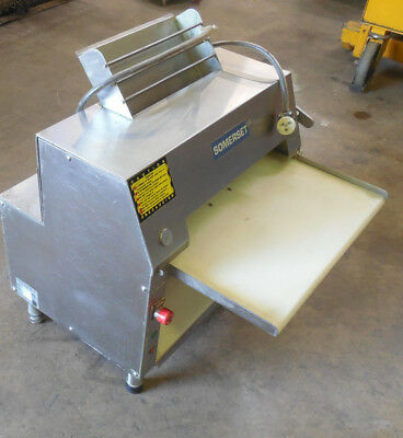 Somerset CDR-2000S CDR-2000S Double Pass Dough Roller - Stainless Steel