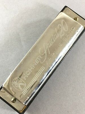 M. HOHNER Special 20 Marine Band Harmonica - Made In Germany
