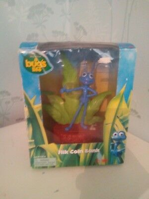 Disney Pixar a Bugs Life Flik Electronic Talking Coin Bank/ money box
