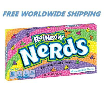 Nerds Rainbow Assorted Flavors Chewy Candy 5 Oz FREE WORLDWIDE SHIPPING