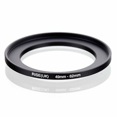 RISE(UK) 49-62 MM 49 MM- 62 MM 49 to 62 Step Up Ring Filter Adapter