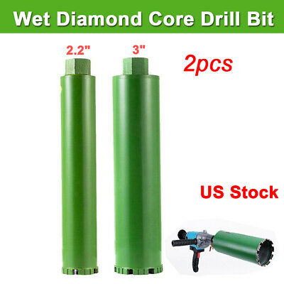 1'' 1.2'' 1.5'' 2'' Combo Wet Diamond Core Drill Bit for Concrete Premium Grade