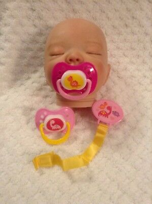 bottle,diapers,doll, preemie,monkey Must see reborn Baby pacifier 10 pockets