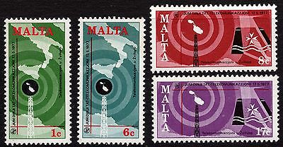 Malta 1977 World Communications Complete Set SG580 - 583 Unmounted Mint