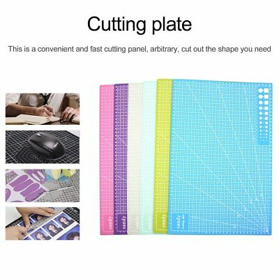A3/A4/A5 Cutting Mat Self Healing Printed Grid Lines Knife Board Craft Model Ey