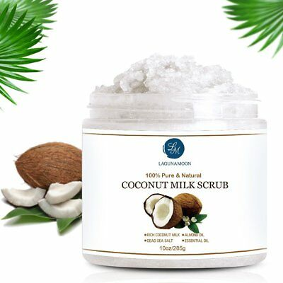 Coconut Milk Scrub Body Scrub Facial Scrub Deep Cleansing Exfoliation Newest AU