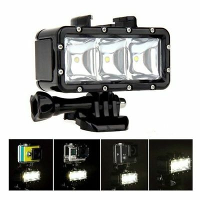 Underwater Waterproof Diving Spot Light LED Mount for GoPro Hero 5 4 3+ 3 SJ4000