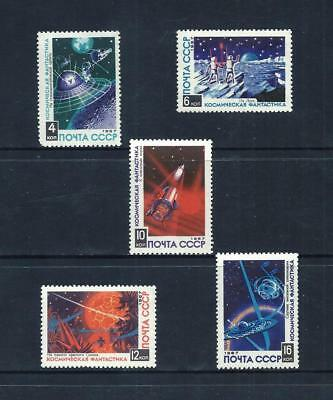 RUSSIA _ 1967 'SPACE' SET of 5 _ mnh ____(535)