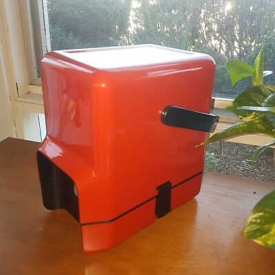 1980s Red Decor BYO Cask Wine Cooler - Original Box Included
