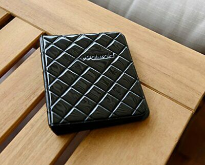 Polaroid 64-Pocket Photo Album w/Sleek Quilted Cover For 2x3 Photo Paper - Black