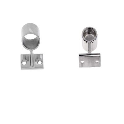Marine 316 Stainless Steel Boat Hand Rail Fitting After Stanchion 22mm 7/8""