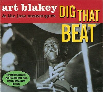 Art Blakey & The Jazz Messengers - Dig That Beat 3CD NEW/SEALED