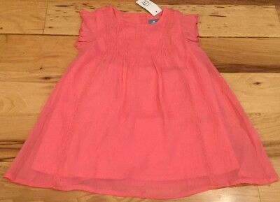 New Baby Girls Shantung Pink Dress Wedding Birthday Formal Pageant Party 219F
