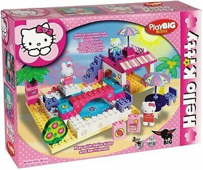 PlayBIG BLOXX HELLO KITTY Princess Schwimmbad Badeanstalt Pool Lego kompatibel