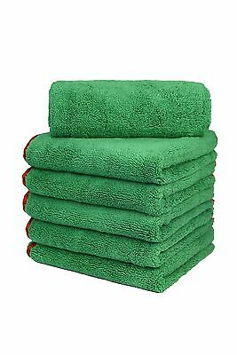 Automotive Care & Detailing 96 pack new green car wash courtesy towels microfiber 12x12 cost effective Automotive Tools & Supplies