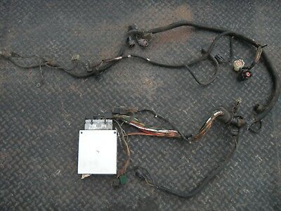 1987 88 ford mustang 5 0 computer engine wiring harness v8 speed rh picclick com