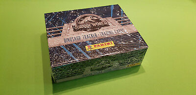 Panini Jurassic World Fallen Kingdom Trading Cards 1 Display 24 Tüten