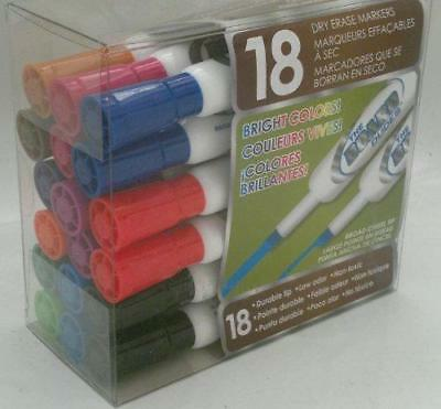 Board Dudes Dry Erase Markers - 18 Count Broard Chisel Tip