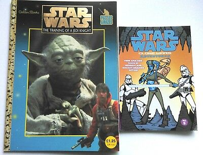 Star Wars Training Of A Jedi Knight Puzzle Book And Clones Wars Adventures Vol 5